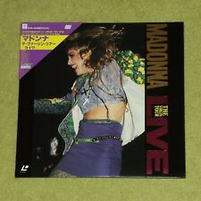 MADONNA The Virgin Tour Live - JAPAN 1st PRESS 1985 LASERDISC + OBI (07JL-38105)
