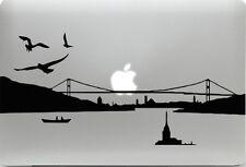 Apple MacBook + ISTANBUL + Aufkleber Sticker Skin Decal + Türkei Skyline