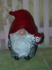 Gießform Latex Troll mit Geschenk, WeihnachtenWichtel, Gnom , Latexgießform