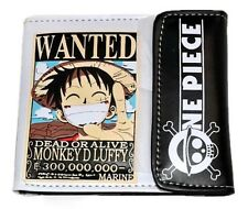 Japan Anime One Piece Monkey D Luffy Cosplay Leather Wallet Purse#PU81
