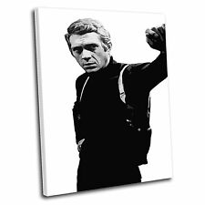 Steve McQueen Canvas Wall Art Print Framed Picture PREMIUM QUALITY i
