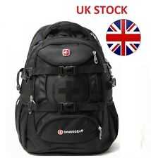 Brand New Black stylish WENGER SWISSGEAR SG 9337 Laptop Backpack Notebook Bag