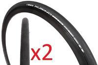 2x (Pair) Vittoria Rubino Pro G+ All Round Road Tyre Graphene 700x25 BLACK