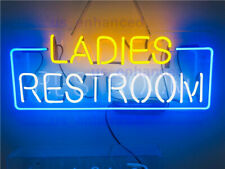 New Ladies Restroom Neon Sign Acrylic Bedroom Gift Light Lamp Bar 24""