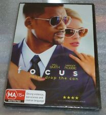 Focus DVD Will Smith New Sealed Free Postage