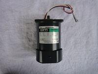 Sesame 5IK60A-SFP Induction Motor 60W//3Ø220V//4P//Thermoswitch//Fan