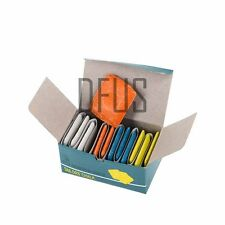 Caja de 12 Mezclado Color Sastres Tiza Paño Tejido Patrón Tiza para marcar la ropa