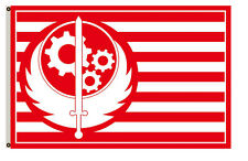 New listing New California Brotherhood of Steel Red Fallout 4 Exclusive Flag 3x5ft