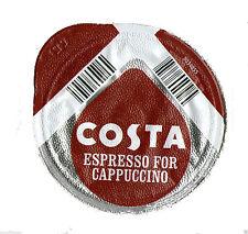 48 x Tassimo Costa Espresso for Cappuccino Coffee T-discs (Sold Loose) NO MILK