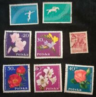 lot N°88 - 8 timbres POLOGNE