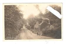 RP Winchmore Hill Church Hill Real Photo postcard palmers green postmark