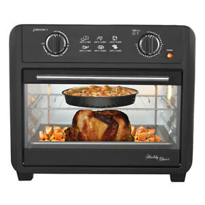 Healthy Choice Electric Convection Airfryer 23L 1700W Air Fryer Oven/Bake Black