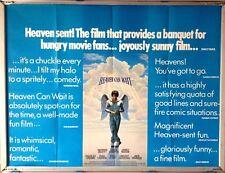 Cinema Poster: HEAVEN CAN WAIT 1978 (Review Quad) Warren Beatty James Mason