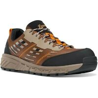 "Danner 12371 Men's Run Time 3"" Brown NMT Composite Toe Sneaker Work Shoes"