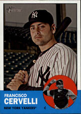 2012 Topps Heritage Baseball #329 Francisco Cervelli New York Yankees