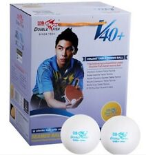 100 balls Double Fish none star 40mm+ new material Table Tennis Pingpong Balls