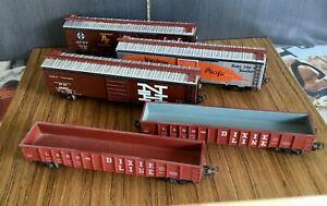 Märklin - lot of 5 US freight cars