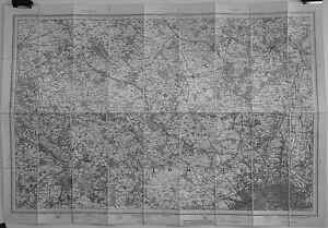 Antique maps, NW London, Ordnance Survey, c. 1893