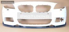 BMW F10 F11 M-Sport Front Bumper spoiler lip chin M Power M-Tech diffuser sport