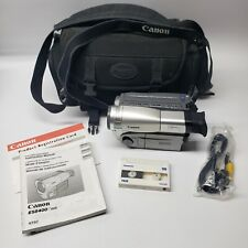Canon ES8400V Hi8 Camcorder with bag and battery, tape, no charger.