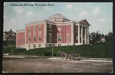 Antiquarian Building Worcester Mass 1918