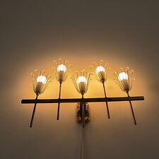 Wandleiste Wandlampe 50s Mid Century  brass wall lamp Emil Stejnar Rupert Nikoll
