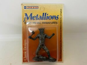 Lone Star Metallions Cast Metal Miniatures Crazy Horse - NEW