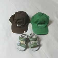 Baby Boys Toddler 3 Pce Grouping  -  2 Mexx Hats & Mexx Sandals Size12 -18 Mths