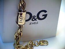 Armband DOLCE & GABBANA DJ0979 Damenarmband Stahl vergoldet mit Geschenkbeutel