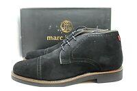 "Marc Joseph Men's Black Suede ""York Ave"" Lace Up Boots size 9M NEW"