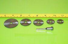 6-Tlg HSS Mini Kreissägeblätter 22-44 Für Dremel Bosch Modellbau Haushalt wohnen