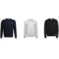 Lacoste Sweatshirt Men's Top Black Blue Grey Jumper Slim Fit S M L XL New Sale !