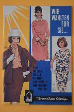 Versandhaus Leipzig Katalog Wir wählten für Sie..., 24 Seiten, 1963, Beilage