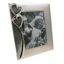 """5"""" x 7"""" """"Hearts"""" Photo Frame - Love, Wedding, Special"""