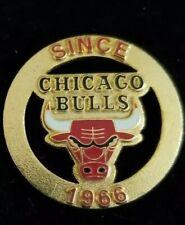 NBA Chicago Bulls Since 1966 Hat Lapel Pin By Peter David