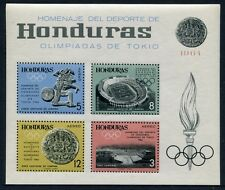 HONDURAS 1964 Olympiade Olympics Tokyo Block 6A ** MNH