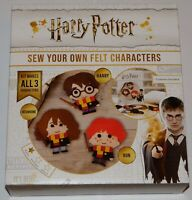 Harry Potter Sew Your Own Felt Characters - Brand New - 781065