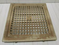 J.R. Smith Industrial Brass Floor Drain Cover no. 6486g