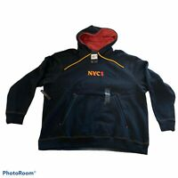Nike NYC Chinatown Hoodie Black CW4777-010 Men Size XXL Heavyweight