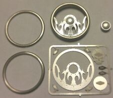 DETAIL MASTER 	1/24-1/25 Tribal Skull Billet Steering Wheel Kit  DET3127