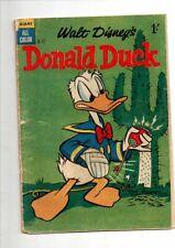 WALT DISNEY COMIC 'DONALD DUCK'  D 17     VG     1958