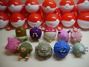 Vintage 1999 Pokemon Burger King Figures Toy / Pokeball - Spinner Toy Set of 10