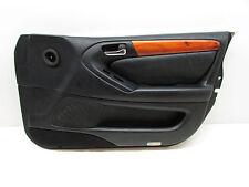 98 LEXUS GS400 DOOR PANEL FRONT RIGHT SIDE BLACK LEATHER 98 99 00 01 02 03 04 05