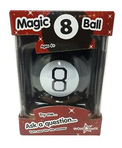 Magic 8 Ball Fortune Future Teller Mystic Executive Toy Novelty Gift WOW tastic