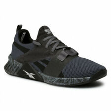 Mens Reebok Flashfilm 2 Black Running Shoes Lightweight Breathable FW8161 NEW