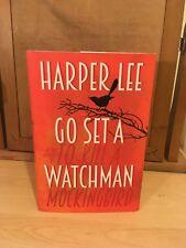Harper Lee - Go Set A Watchman (2015) Hardback 1st First Edition