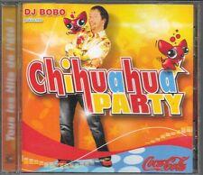 CD ALBUM 22 TITRES--DJ BOBO--CHIHUAHUA PARTY--2003