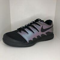 Nike Tennis Shoes Court Air Zoom Vapor Black AH9066-900 Mens Size 10 Wide
