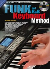 PROGRESSIVE FUNK AND R & B KEYBOARD METHOD + CD
