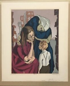 Harry Shoulberg - Despair - Serigraph One of 100 signed by the artist